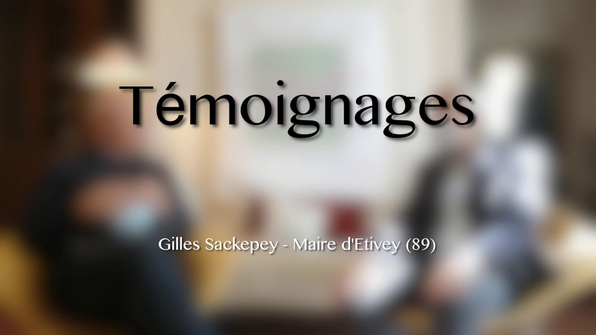 Eoliennes - Témoignage 3/4 - Gilles Sackepey - Maire d'Etivey