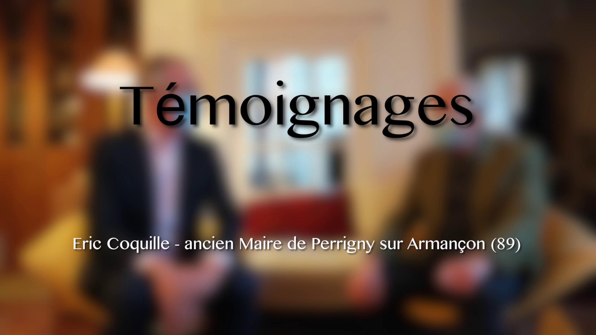Eoliennes - Témoignage 2/4 - Eric Coquille - Ancien Maire de Perrigny-sur-Armançon