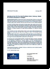 Pressemitteilung 01-2021 HCH Der HafenCity-Makler GmbH