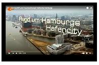 Grafik: Webscreen Fernsehbericht ZDF auf YouTube: Traumschiff und Traumwohnung? Hafencity Hamburg | HCH Der HafenCity-Makler GmbH, Hamburg