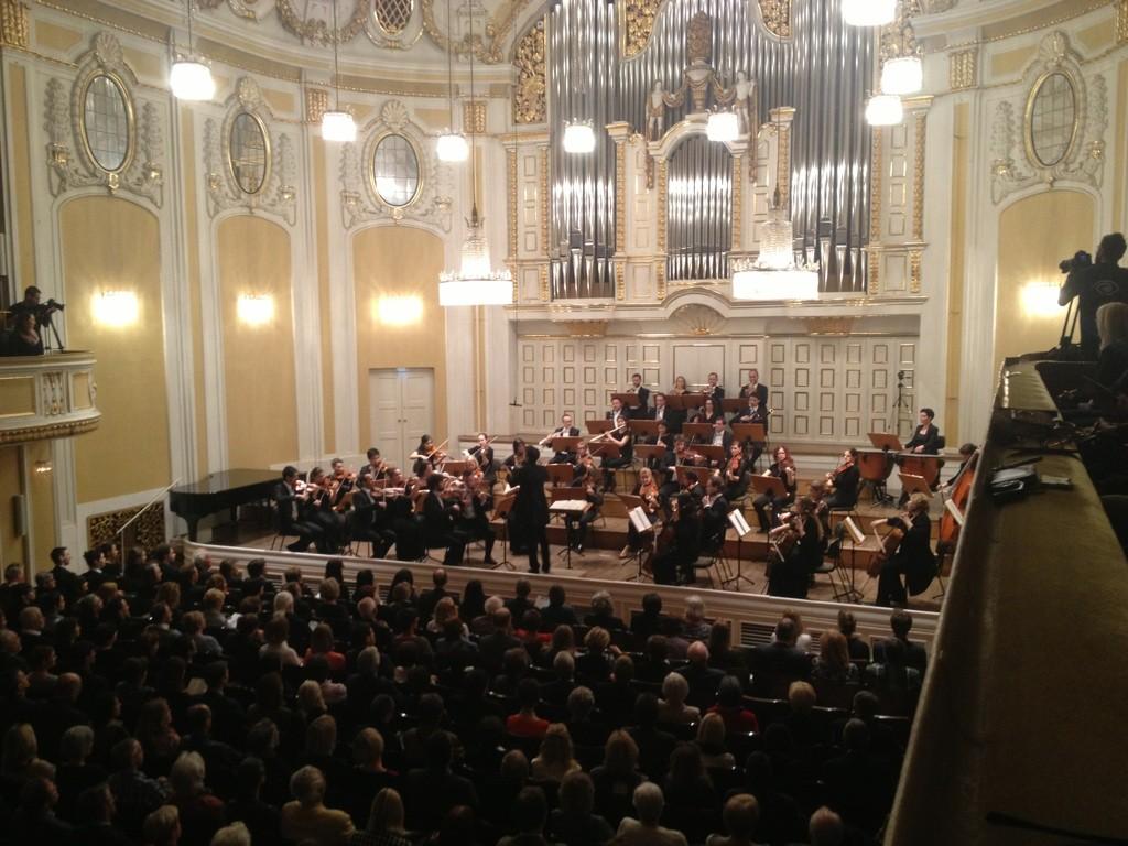 Grosser Saal Mozarteum - Philharmonie Salzburg 2015