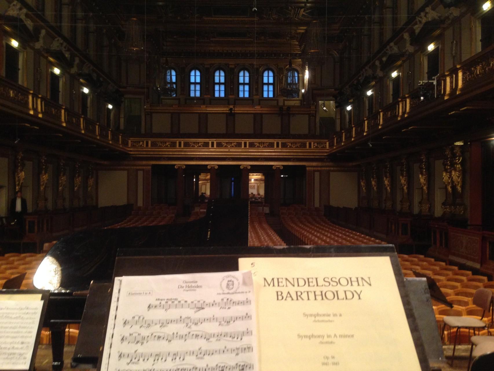Musikverein Wien - Philharmonie Salzburg 2015