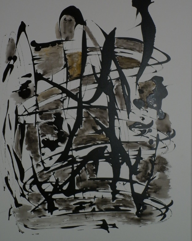 Bild Nr. 222 o. T. ©  Maß  70 x 90 Acryl/Leinwand auf Keilrahmen
