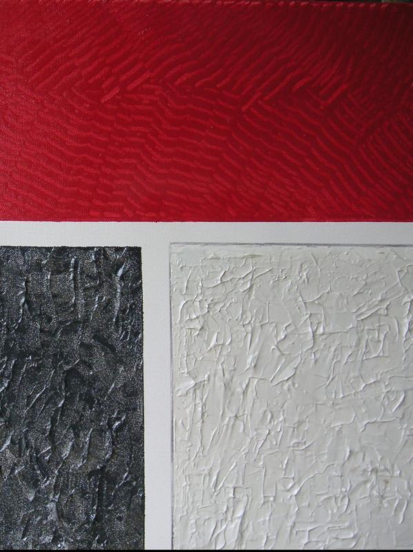 Bild-Nr. 159 Buchhaltung  © Maß 50 x 50 Acryl/Leinwand auf Keilrahmen