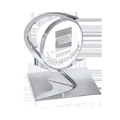 #moneda en #niquel, metal Rex 5cm, arco modernista, base en solera cod.97987