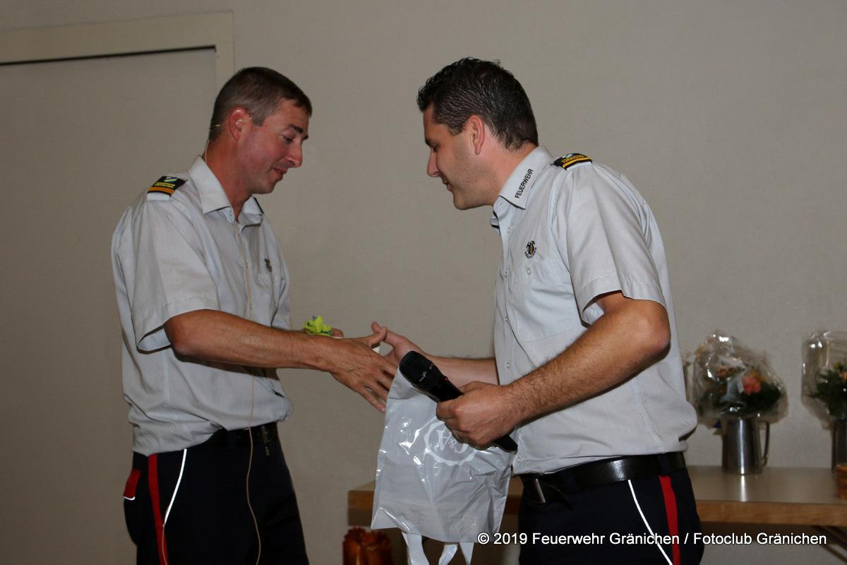 Befördert zum Hauptmann und neuer Kommandant (Simon Schnell)