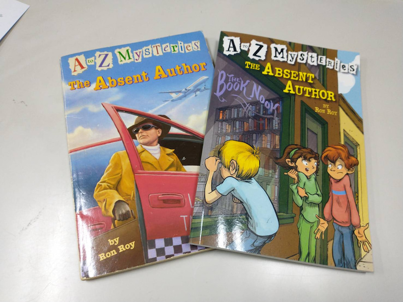 A to Z Mysteries : Rejacketed