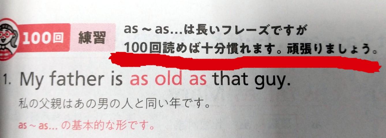 100回読めばなんとかなる?
