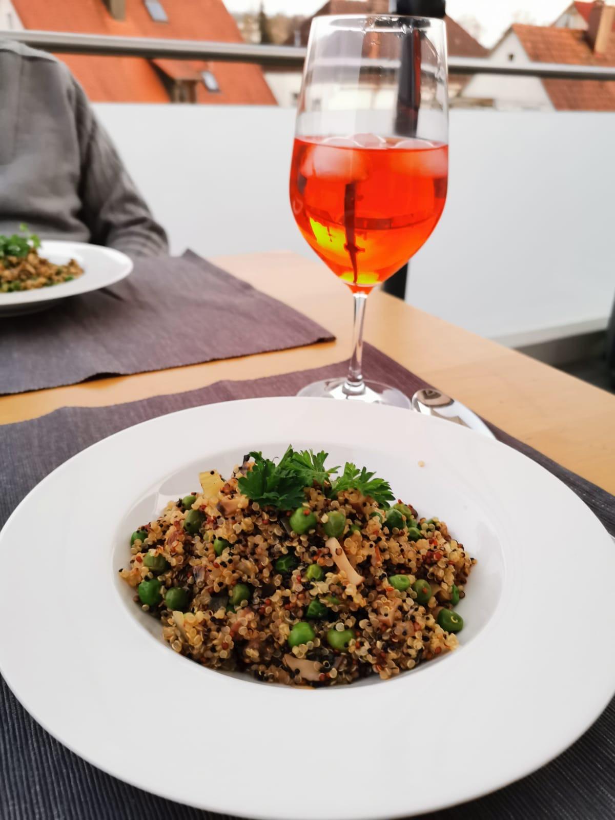 Quinoa Risotto aus Peru