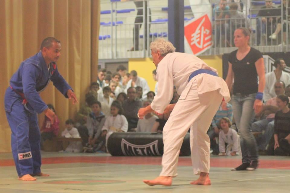 Combat Jujitsu Brésilien Ne Waza avec Jean-Pascal BALARD (bleu)