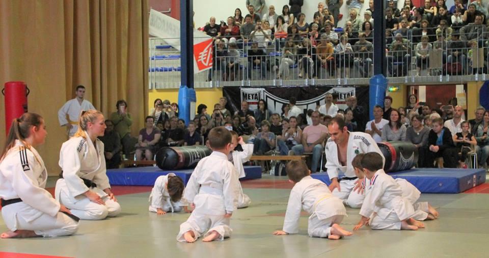 Démonstration de Baby Judo