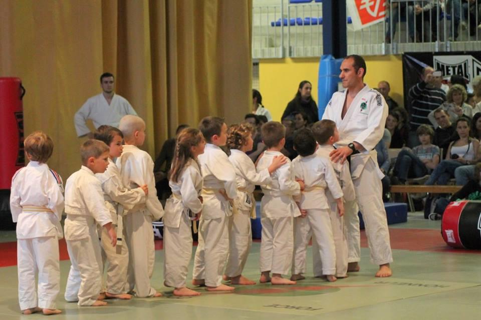 Eveil Judo avec les 3 et 4 ans