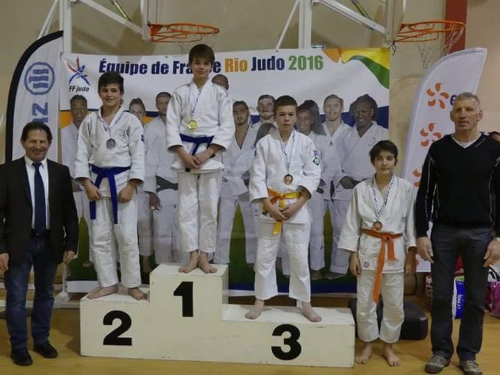 Enzo CLAVERIE - Médaille de bronze