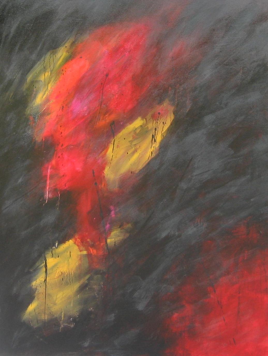 """Série """"Les Dévorants"""" - Le Faune - 116 x 89 cm - 2014"""