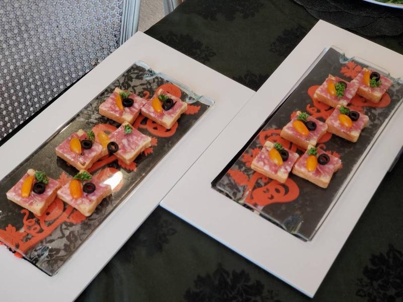 アンデルセンのミニ食パンが可愛くて🍞💕 何かに使いたいと考えて出来た一品