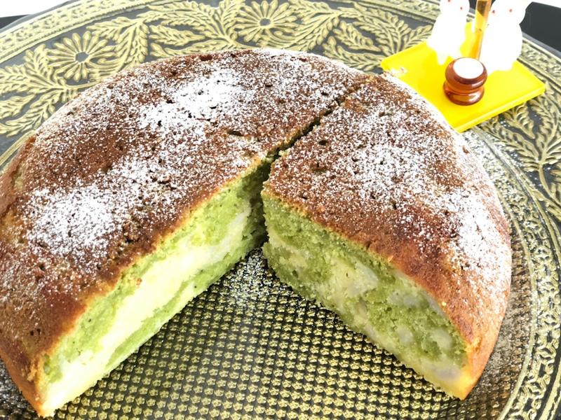 デザートは【もっちもち 里芋ケーキ】