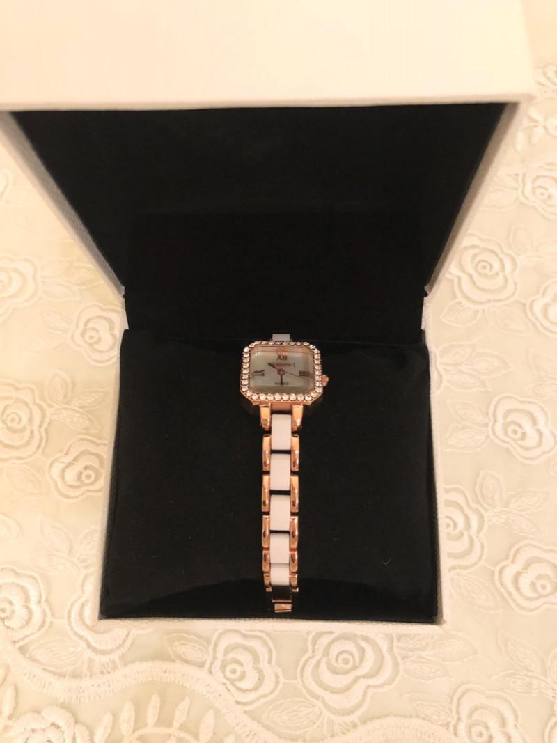 私の大好きなアビステの時計をプレゼントしてくれました😊