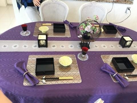 テーブルデコレーションは ぐっと日本的に【お月見】