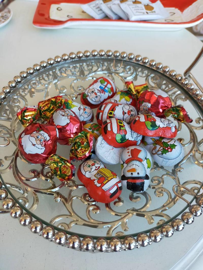 サンタさんのお皿に🎅乗ったクッキー