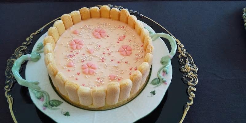 オードブルの お花見チーズ