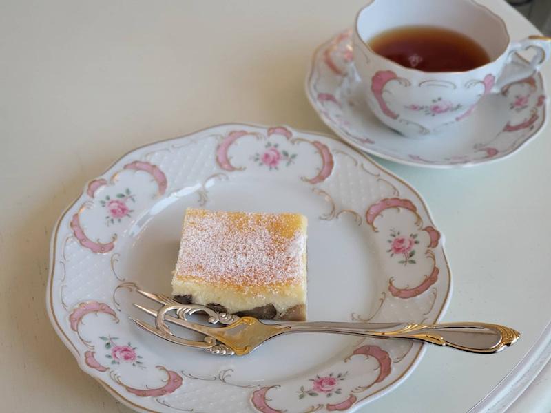 デザートの栗🌰がゴロゴロ入ったチーズケーキ