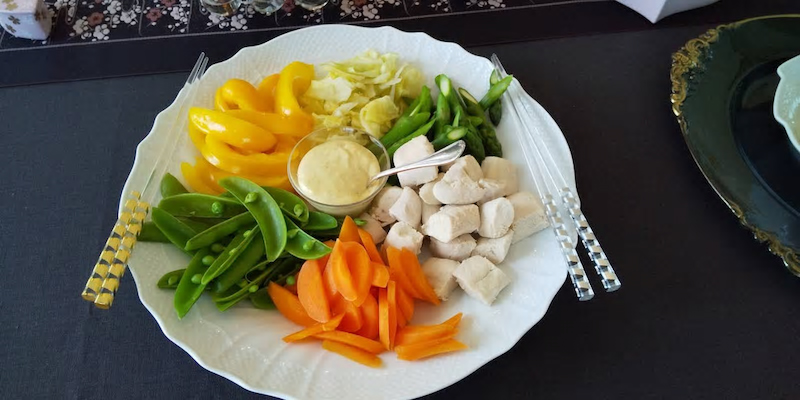 春の温野菜サラダ ダイエットにもオススメです。