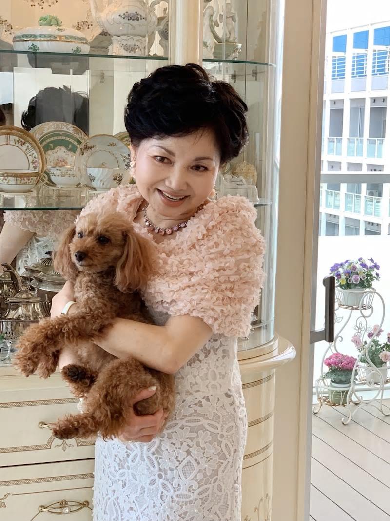 イヤリングも桜 実はこれ、昨年セミナーで訪れた大阪で買ったもの