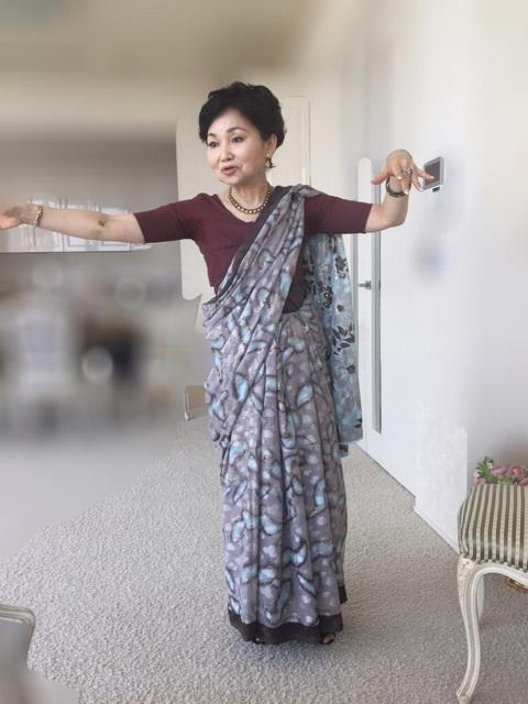 インドの舞もご披露???