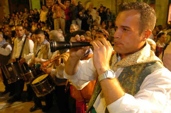 Convivenvias con las candidatas a Bellea del Foc 2007 en Murcia.