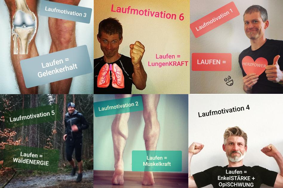 Wie motiviere ich mich zum Laufen? - Teil 1 - Das Motiv