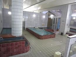 浴室(体を洗ってからお風呂へ入ってください)