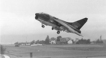 A-7D Corsair II in Emmen