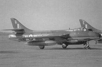 Hunter FGA 9 der RAF