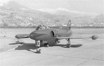 Der dritte Prototyp der Schweizer Entwicklung des P-16