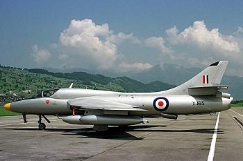 Doppelsitzer Hunter der RAF, hier der XJ615