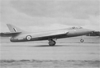 Hunter Prototyp WB188, (Mk.3)