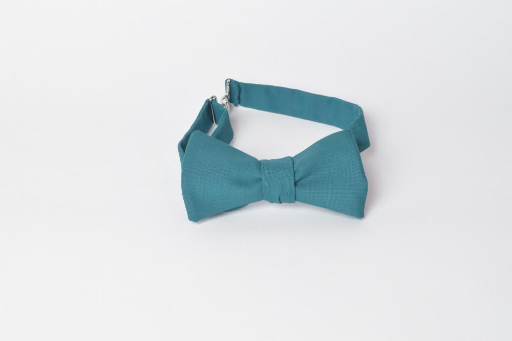 Blaue Herren Anzug Schleife zum selberbinden – Selbstbinder