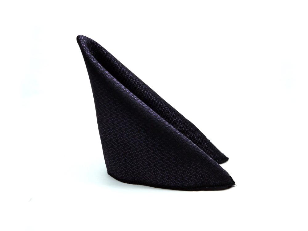 Einstecktuch lila schwarz elegant