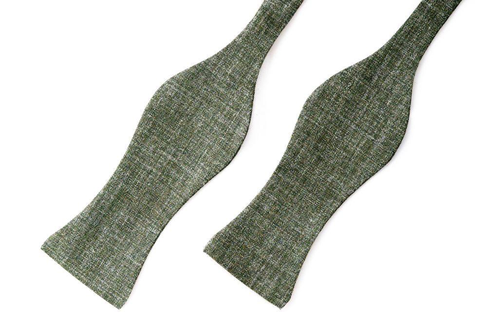 grüner querbinder meliert
