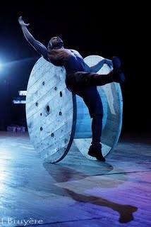 Cirque Baroque  Cirque des Gueux  acte II Chorégraphie Lhacen H.B Bella