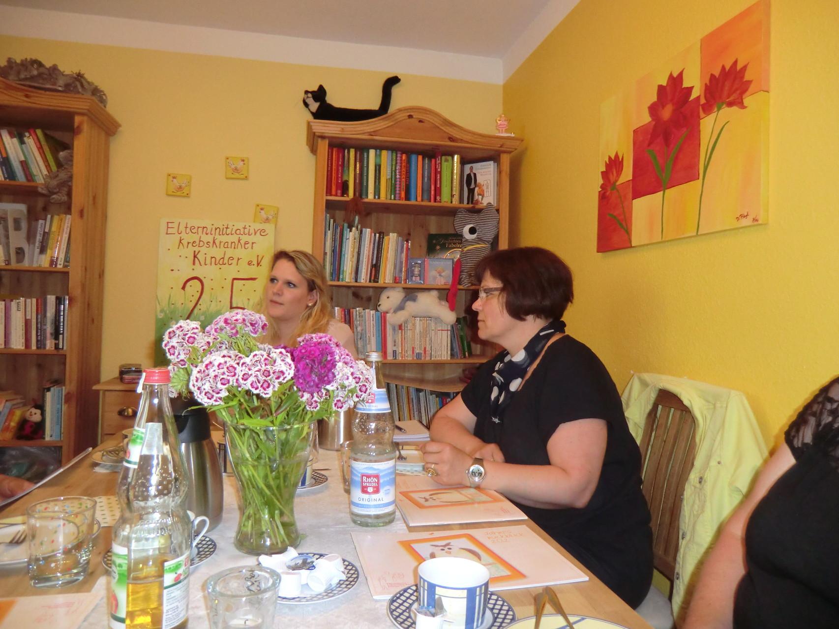 im Gespräch mit Frau Roderus, Sozialpädagogin