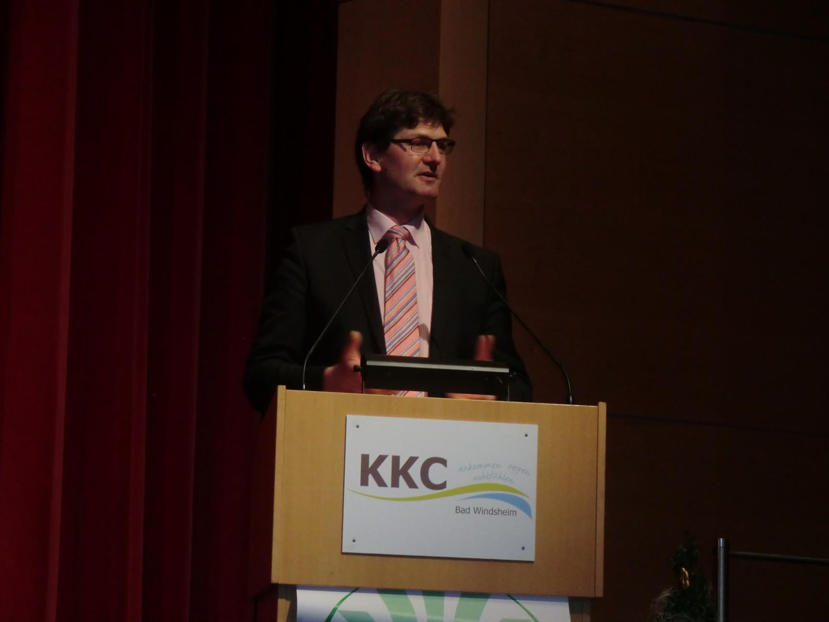 Stv- Bezirkspräsident Robert Orth