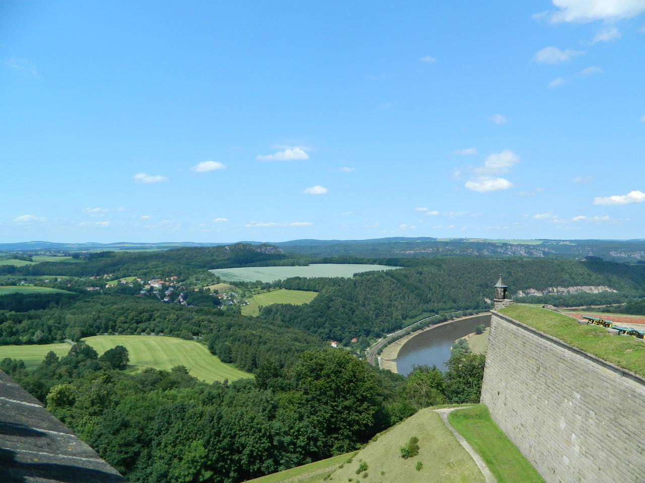 Blick von Feste Königstein