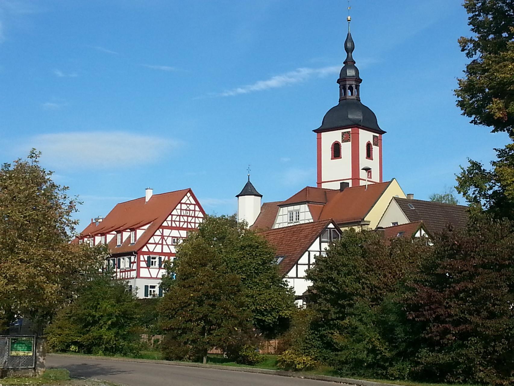 Unser Golddorf - Markt Nordheim: hier lässt es sich gut übernachtedn