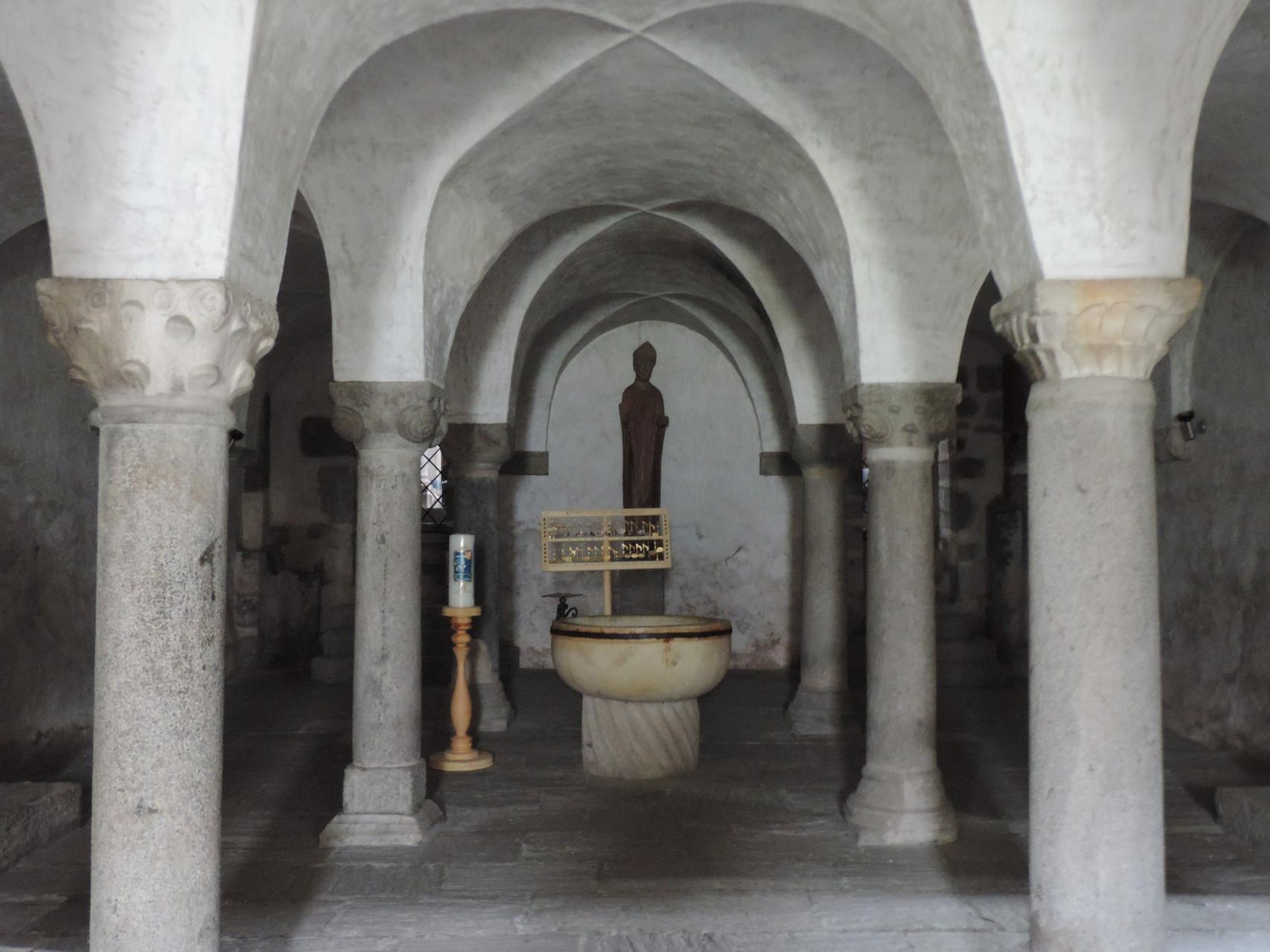 Kryta der Stiftskirche zu Innichen