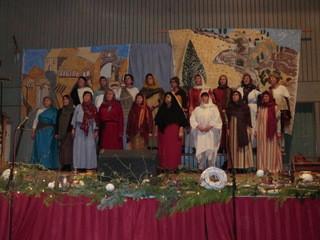 """Weihnachtsmusical """"der durchkreuzte Plan"""" aufgeführt vom Ulsenheimer Kirchenchor"""