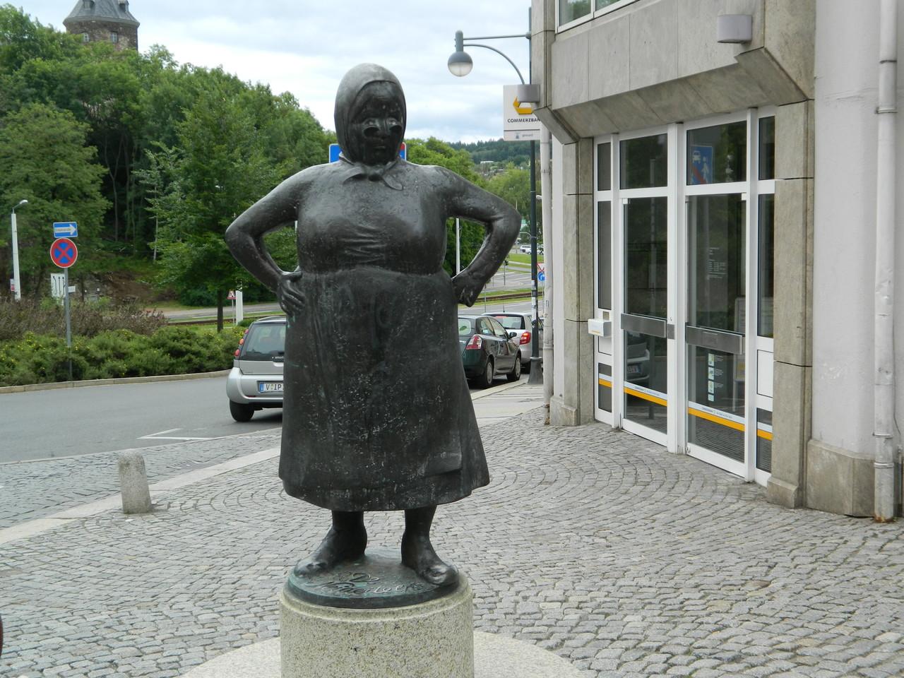 Die Neideitl in Plauen - wer kennt so jemanden nicht
