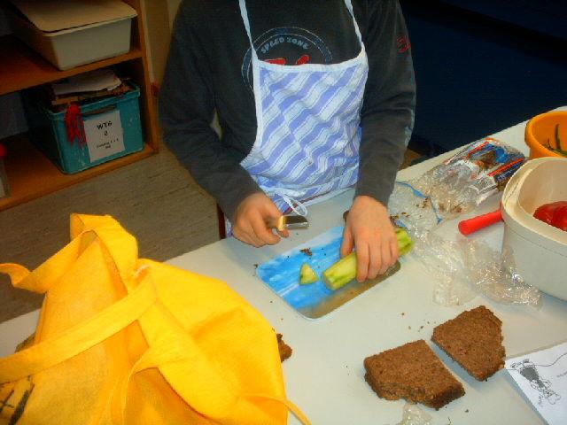 Vorbereitungen für Brotgesichter