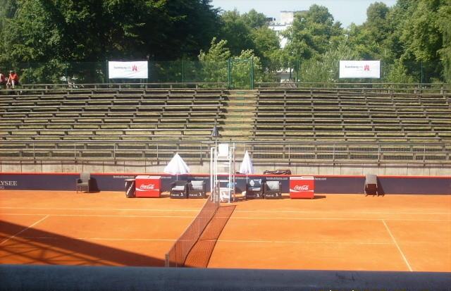 Sommercamp 2010-Besuch des Tennisturnier am Rothenbaum