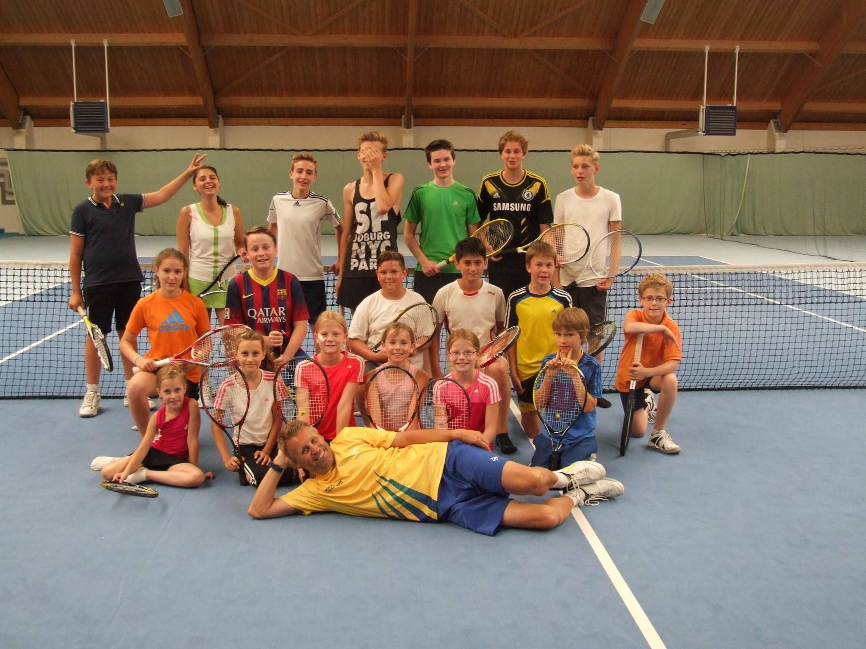 Tenniscamp 2014 (4.8-6.8.)